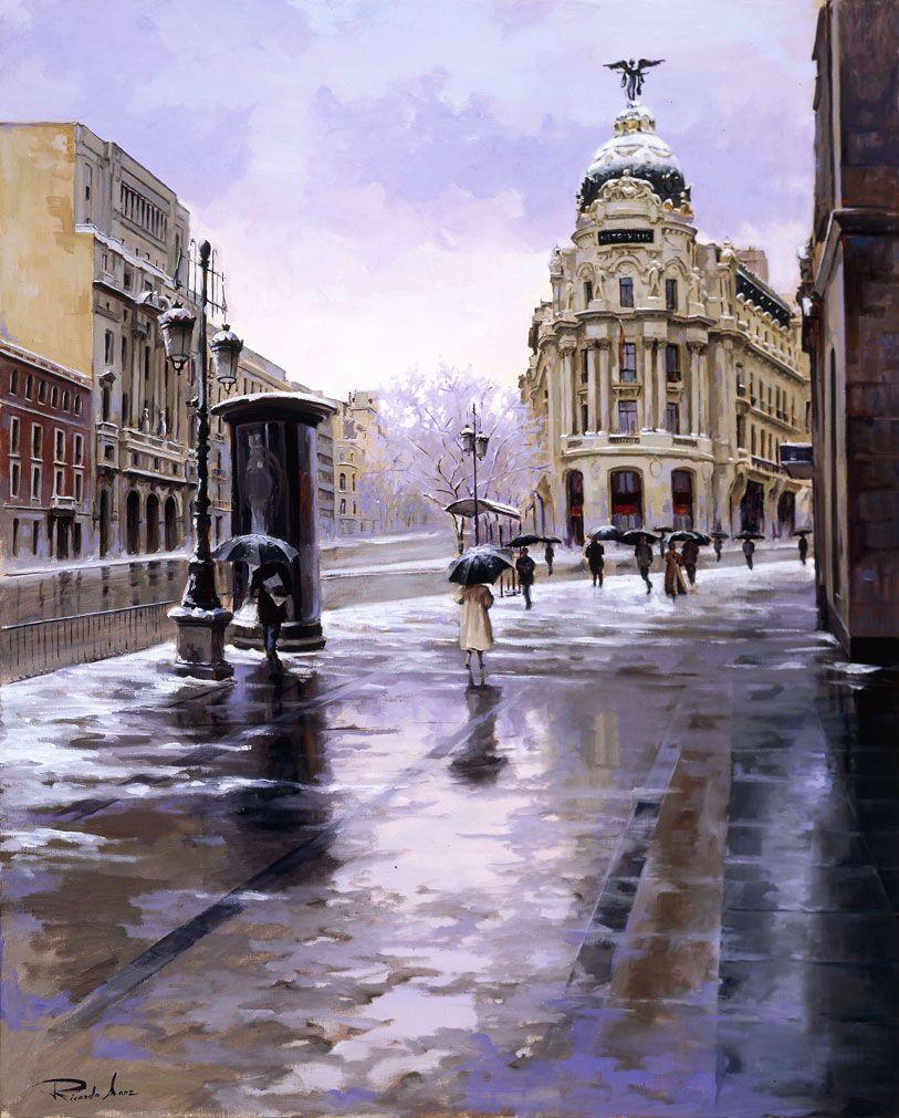 Ricardo-Sanz-Nieve-en-Madrid-100X81cms-