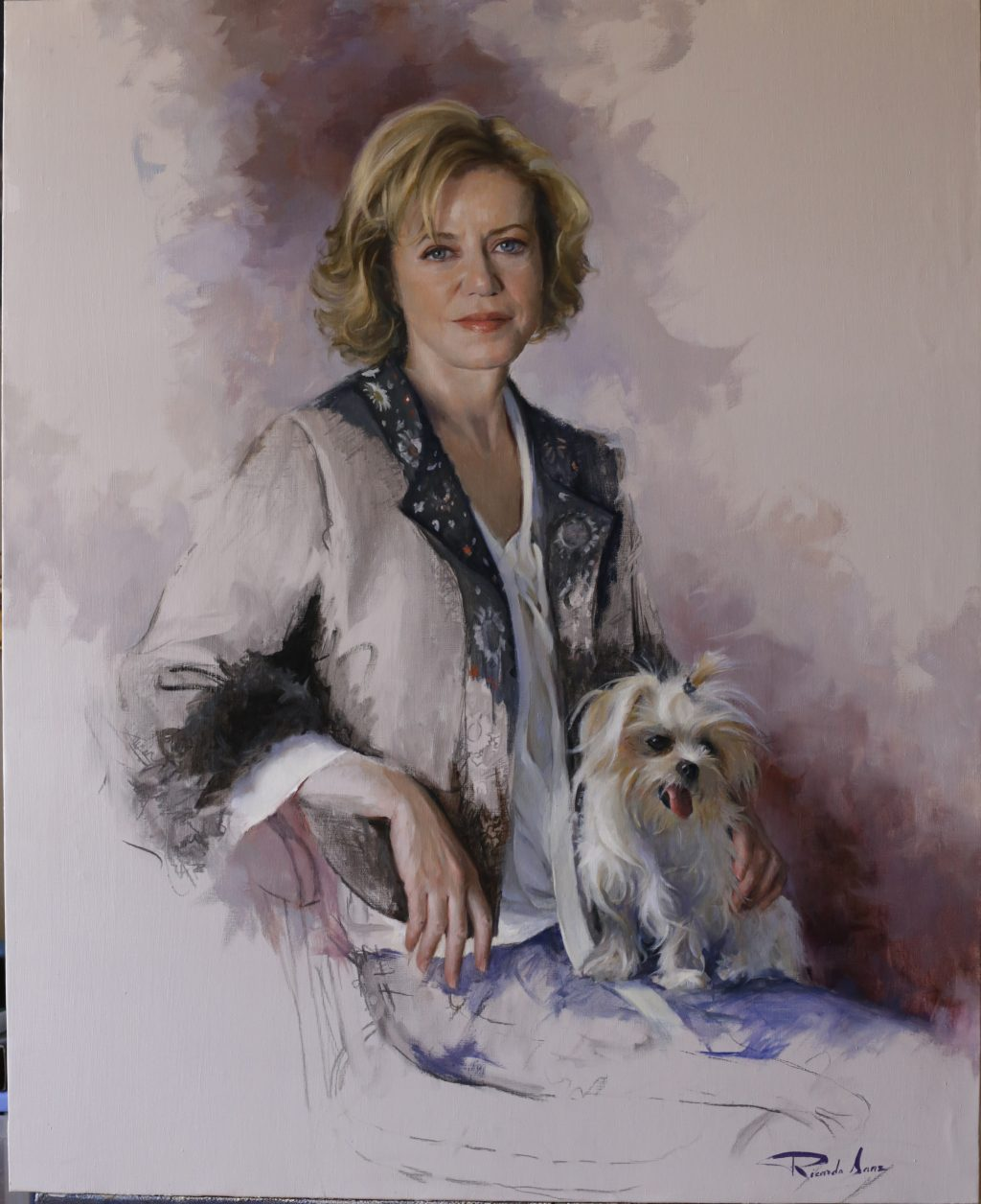Retrato de Dña. Elvira Manrique de Lara y Benitez de Lugo